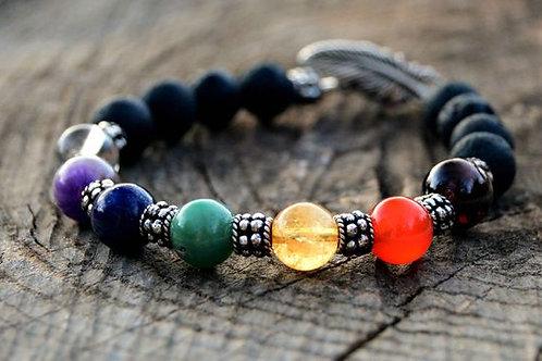 Aromatherapy Chakra Bracelet