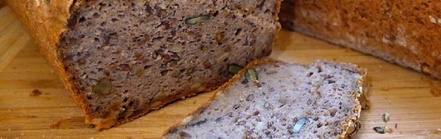 Homebaked Gluten Free Vegan Bread