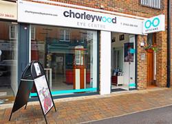 Chorleywood Eye Centre from outside, daytime