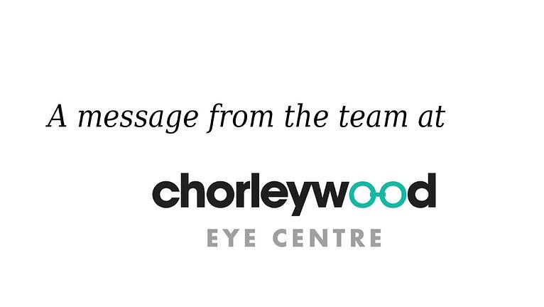 chorleywood eye centre reopening video