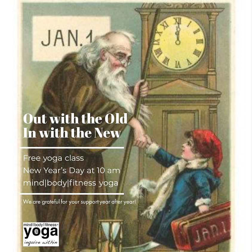 Free New Year's Day Yoga Class