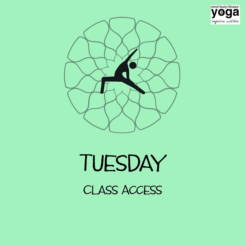 Class Access -  Tuesday, April 21, 2020