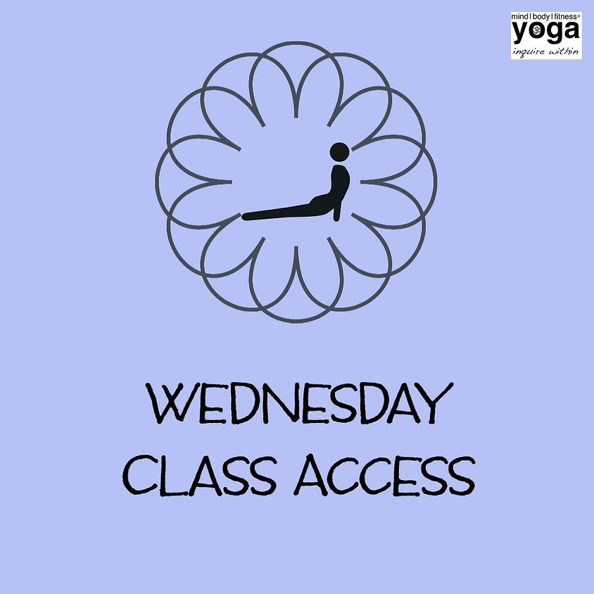 Class Access -  Wednesday, July 29, 2020