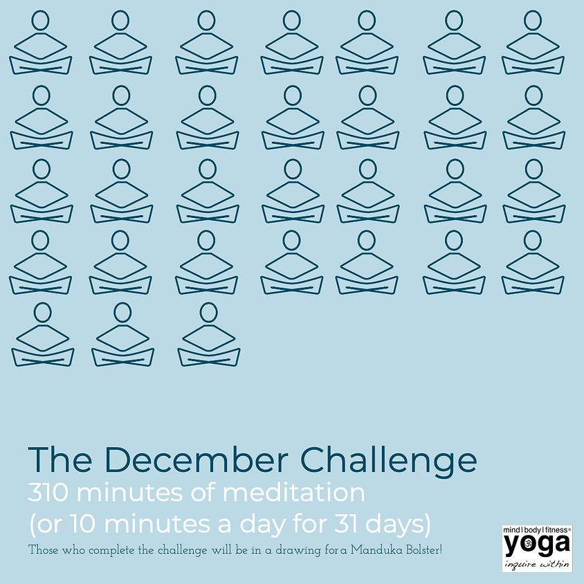 December Challenge - Meditation