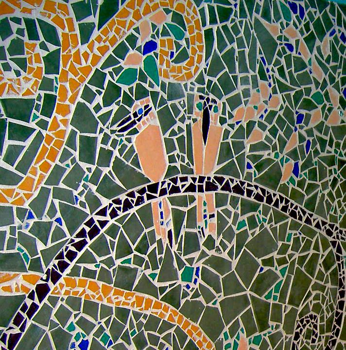 Burringbar Bath room mosaic