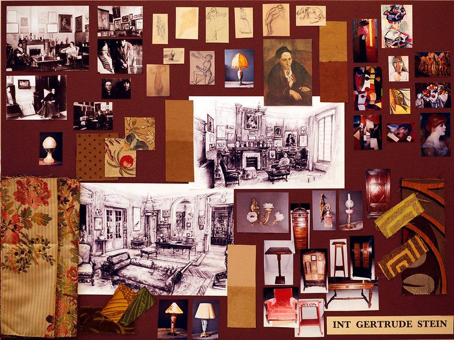 2A Midnight in Paris Mood board Gertrude