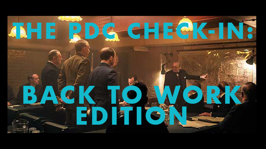 The PDC Check-In - October 2020