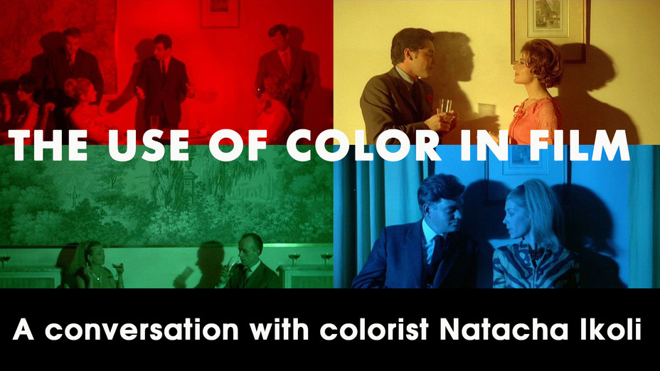 """""""The Use of Color in Film"""" - a conversation with a colorist"""