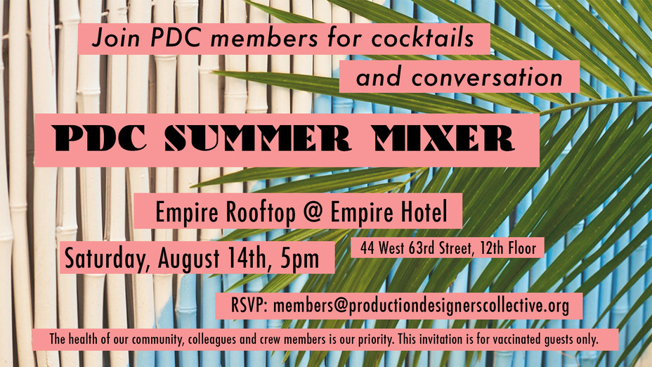 PDC/NYC Summer Drinks - August 2021