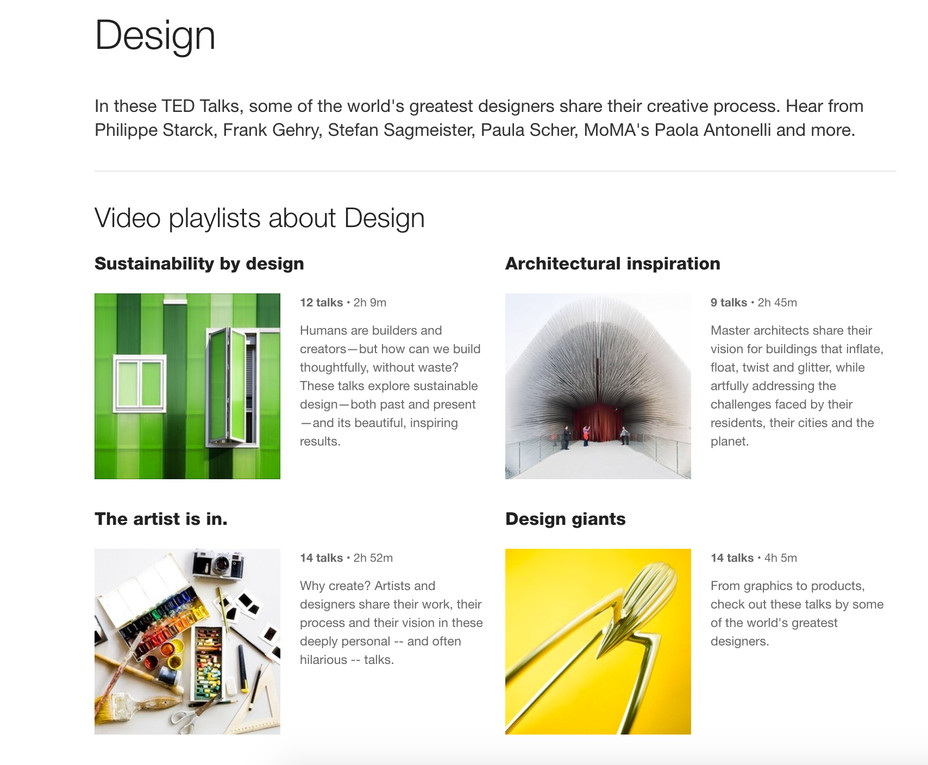 Design Talks Online