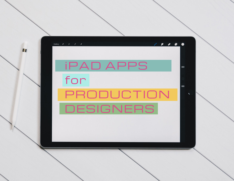 iPad apps for Production Designers