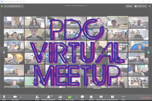 Virtual PDC meetup!
