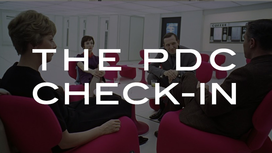 The PDC Check-In