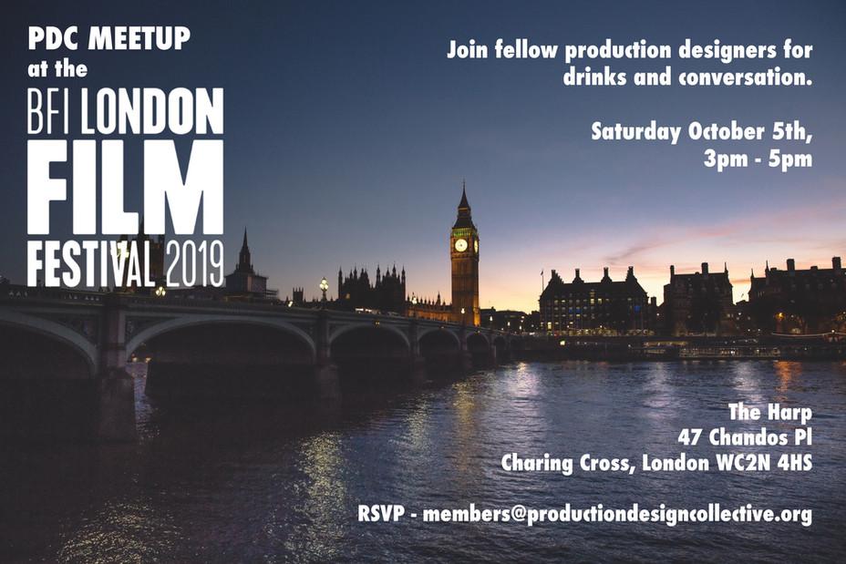 PDC Meetup - London Film Festival 2019