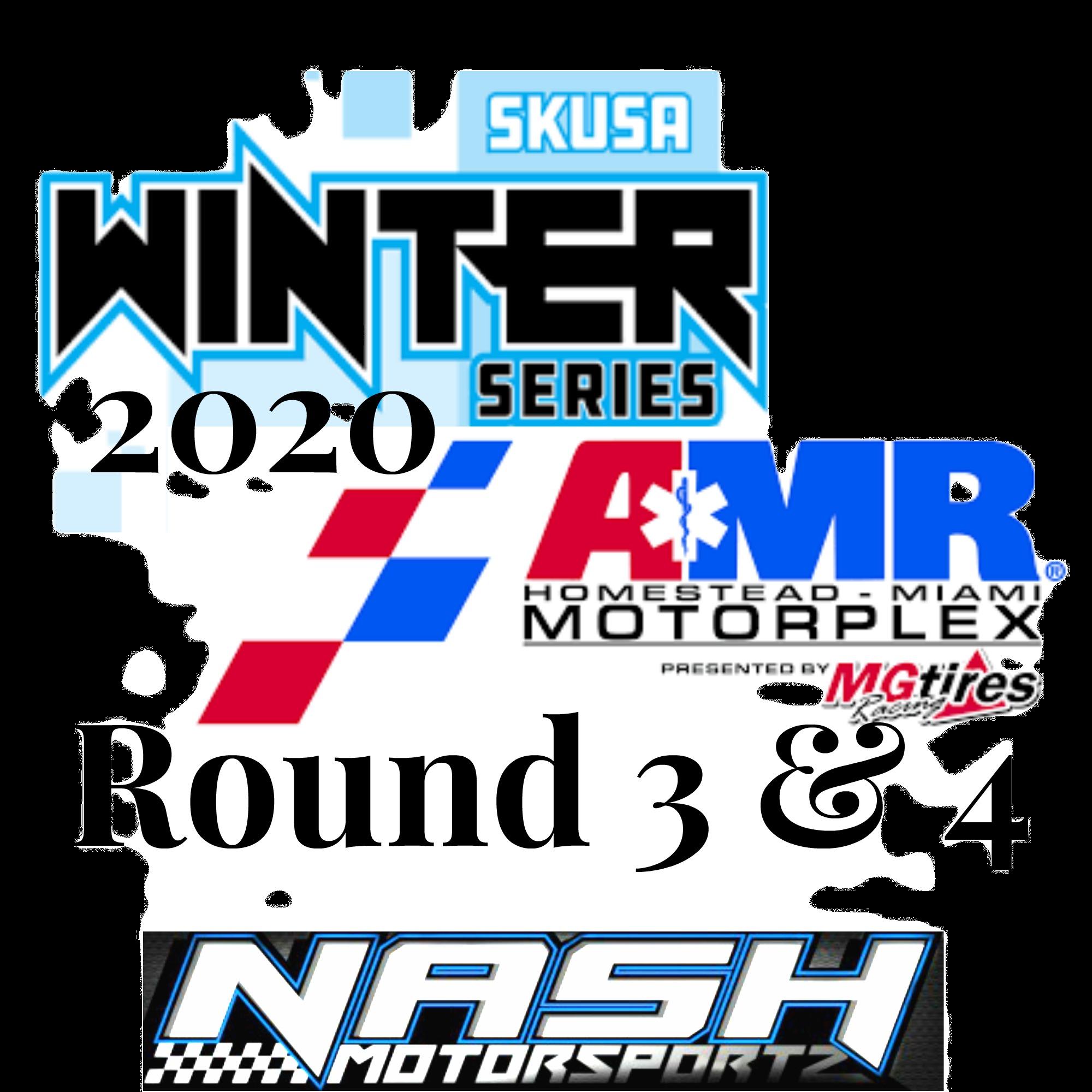 Winter Series Round 3 & 4
