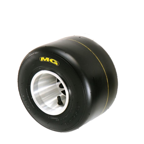 MG Yellow Rear Tire