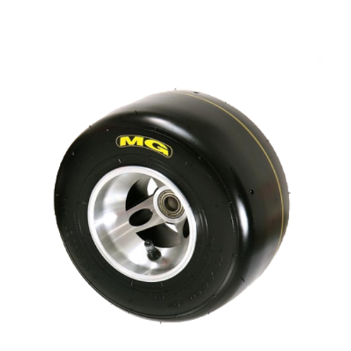 MG Yellow Front Tire