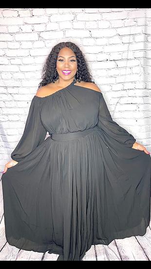 You Call It Maxi Dress (black)
