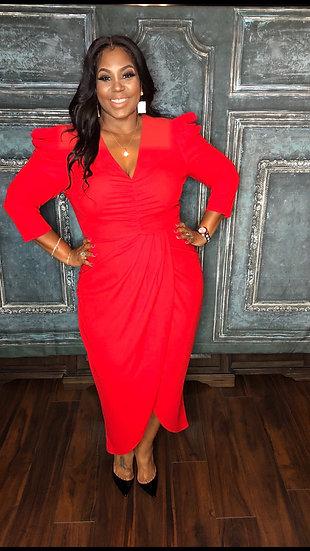My Tulip Dress (Red)