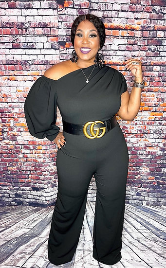 She's Classy Jumpsuit (Black)