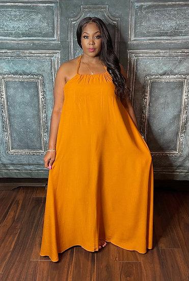 Halter Maxi Dress 1