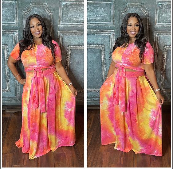 She Wear It Well 2 Piece (Pink)