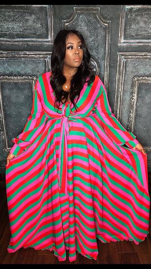 Colored Maxi Dress