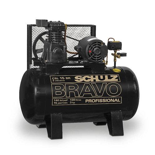 Compresor Schulz CSL 15 BRAVO 140LBS T200L