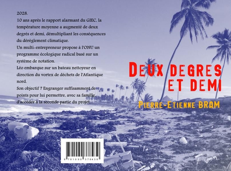 La 1ère couverture officielle du livre.
