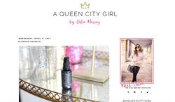 Blogger love from @AQueenCityGirl