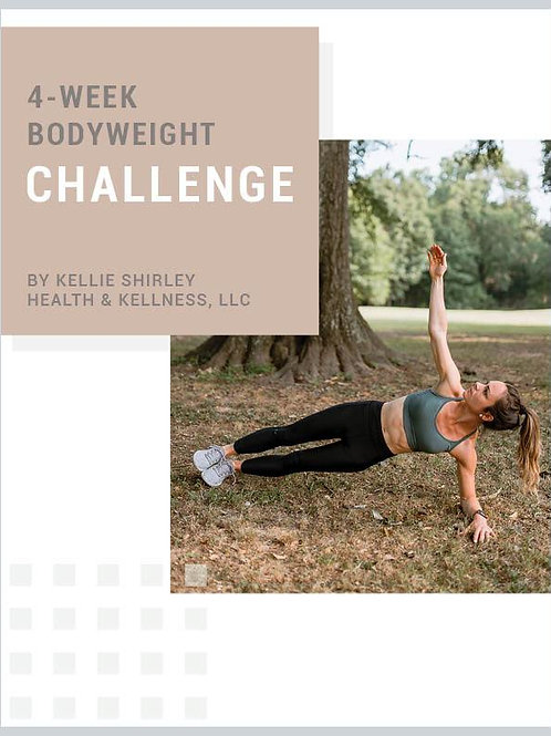 4-Week Bodyweight Challenge