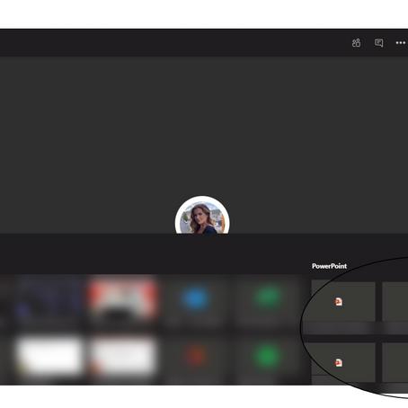 "Ny PowerPoint ""Presenter view"" i Microsoft Teams"
