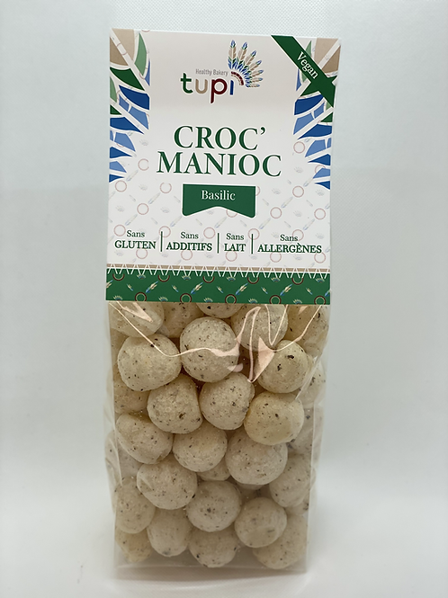 Croc'Manioc BASILIC - 100g
