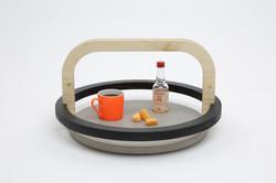 Dalle Flottante round tray