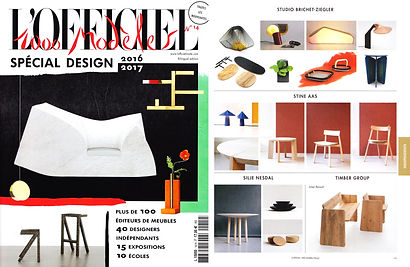 L'Officiel 1000 modèle sspécial design