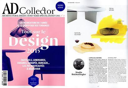 AD Collector 2015 Tout sur le design