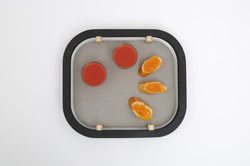 Dalle Flottante rectangular tray