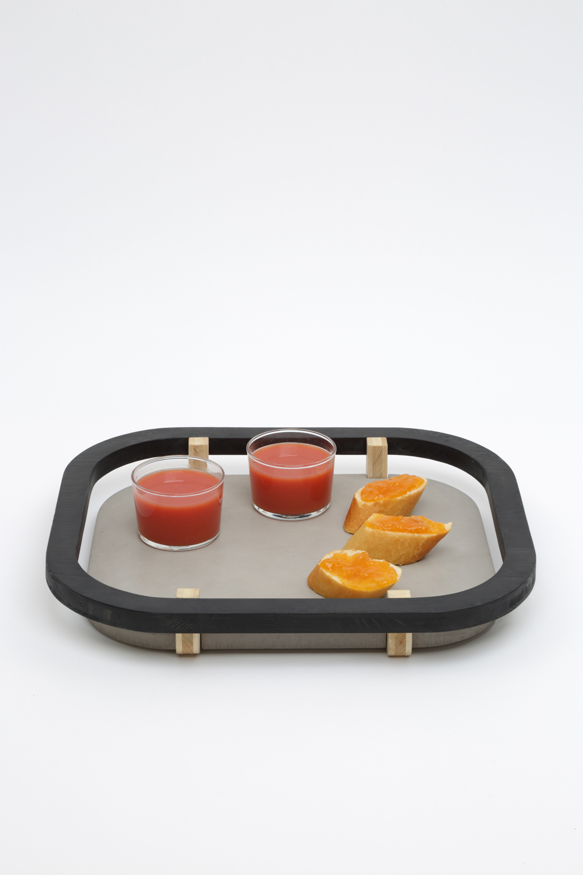 Dalle Flottante rectangular tray
