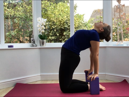 4 ways with ustrasana (camel pose)