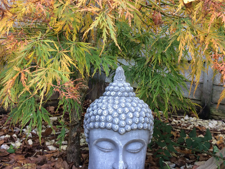 That Buddha on my shoulder ...