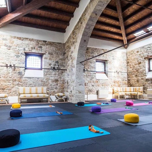 Our Yoga space