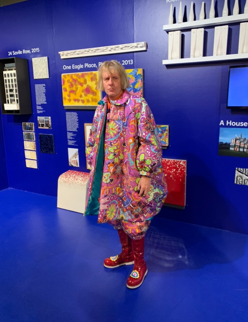 Grayson Perry on the occasion of his talk with Charles Holland on The House for Essex