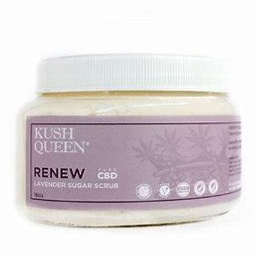 Kush Queen Renew Lavender Sugar Scrub