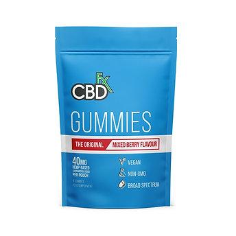 CBDfx Mixed Berry Gummies