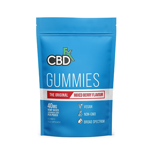 CBDfx Mixed Berry Gummies
