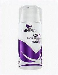 Medterra Rapid Cooling Cream 750mg