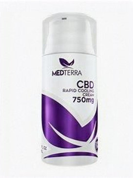 Medterra Rapid Cooling Cream 750mg