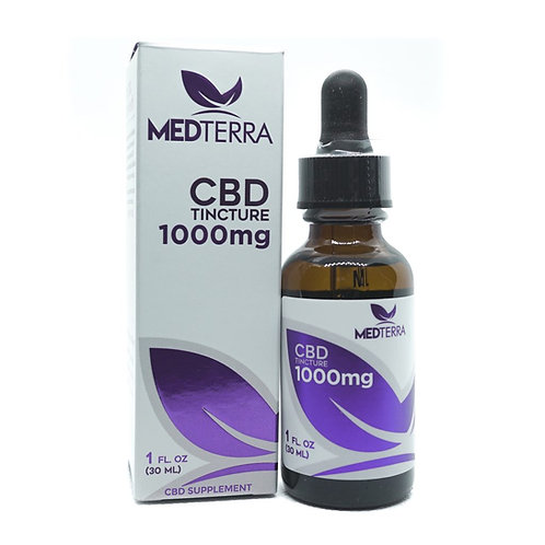Medterra 1000mg THC Free Tincture