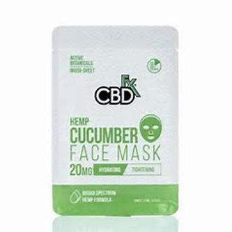 CBDfx Hemp Cucumber Face Mask