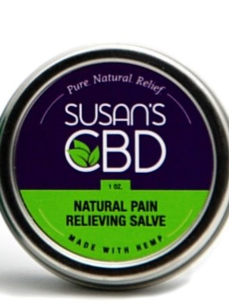 Susan's CBD Pain Relieving Salve